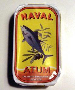 Portugalskie filety z tuńczyka Naval w oliwie z oliwek biodynamicznej 120g