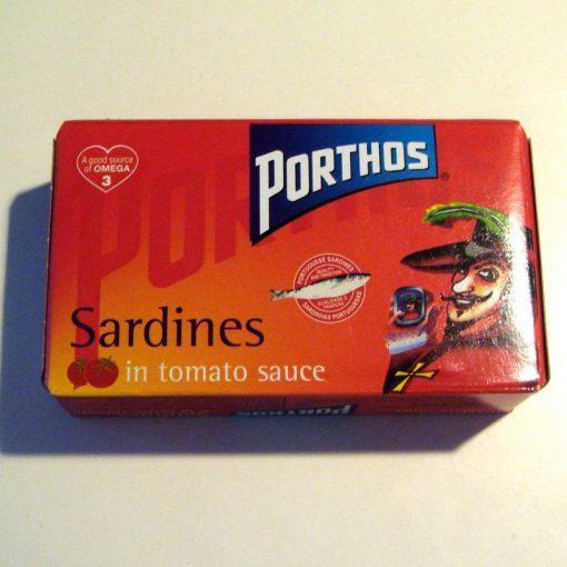 Sardynki w sosie pomidorowym - 120g
