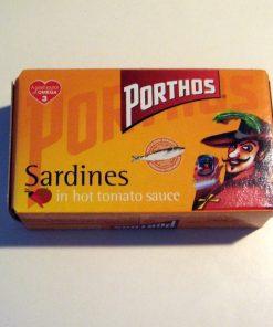 Sardynki w pikantnym sosie pomidorowym 120g