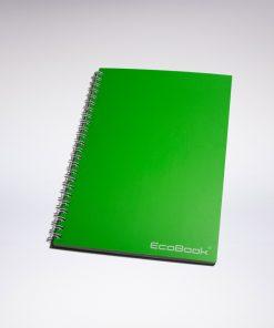 Zestaw EcoBook A5 Zielony