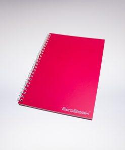 Zestaw EcoBook A5 Różowy